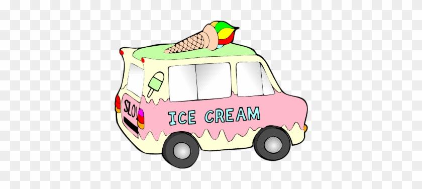 Ice Cream Truck - Ice Cream Truck Clipart Png #171836