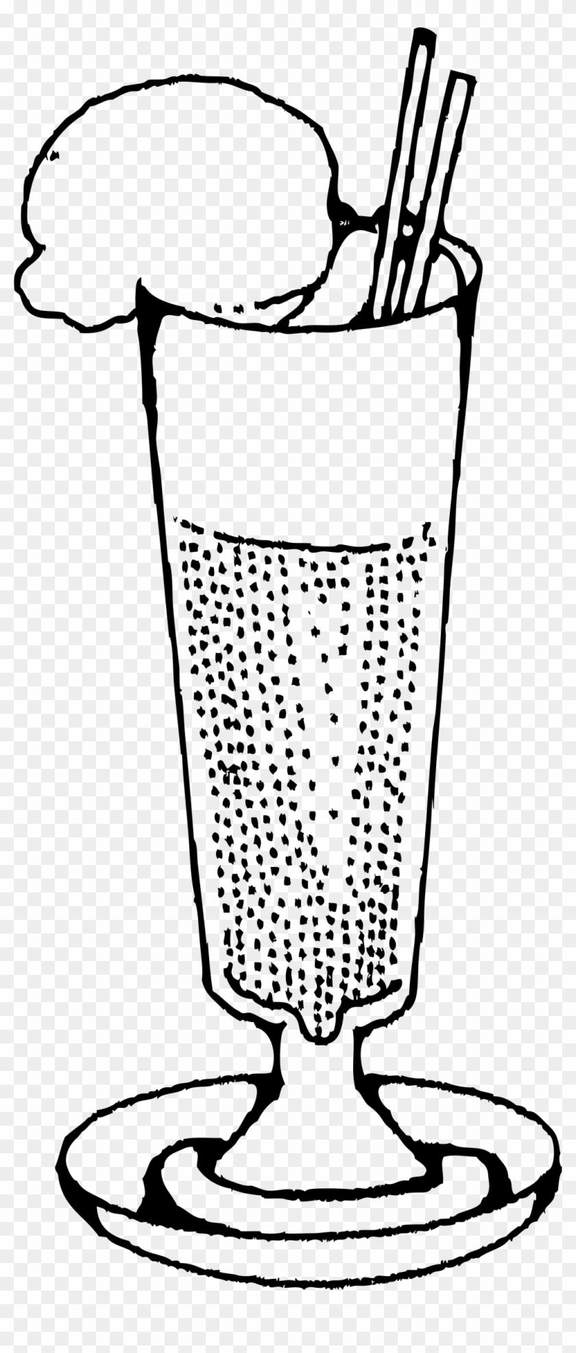 Big Image - Ice Cream Soda Clip Art #171838