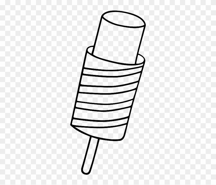 Dessert Popsicle, Lollipop, Ice Cream, Food, Dessert - Ice Cream Sundae Drawing #171856