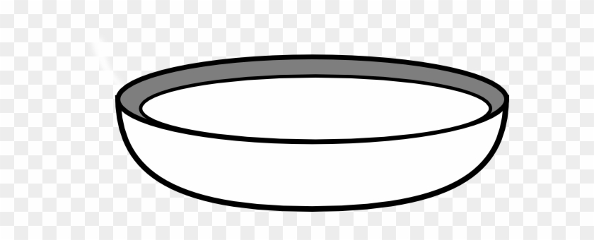 Black And White Bowl Clipart - Bowl Black And White #171859