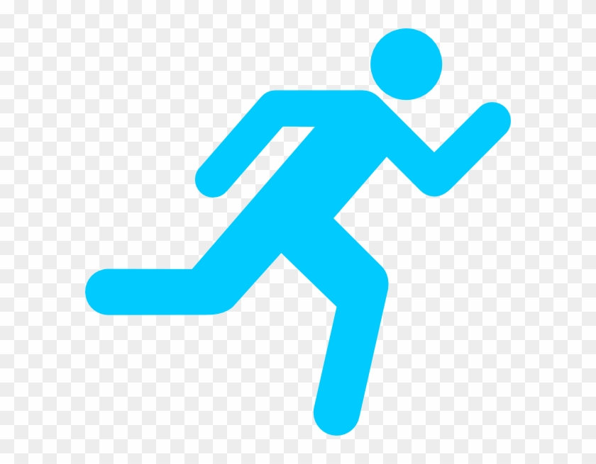 Running Icon On Transparent Background Clip Art At - Running Clipart No Background #171866