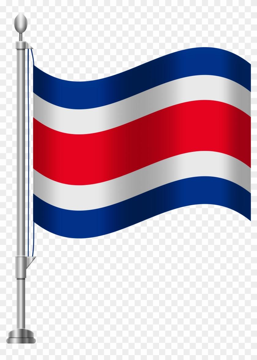 Costa Rica Flag Png Clip Art - Costa Rica Flag Png Clip Art #171898