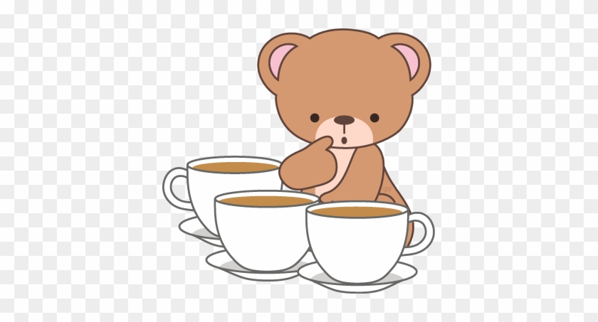 Coffee Time, Tea Time, Coffee Beans, Teddy Bears, Clip - Need Clipart #171917