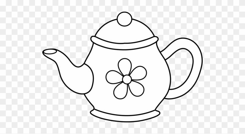 Tea Pot Clipart - Tea Pot Clip Art #171964