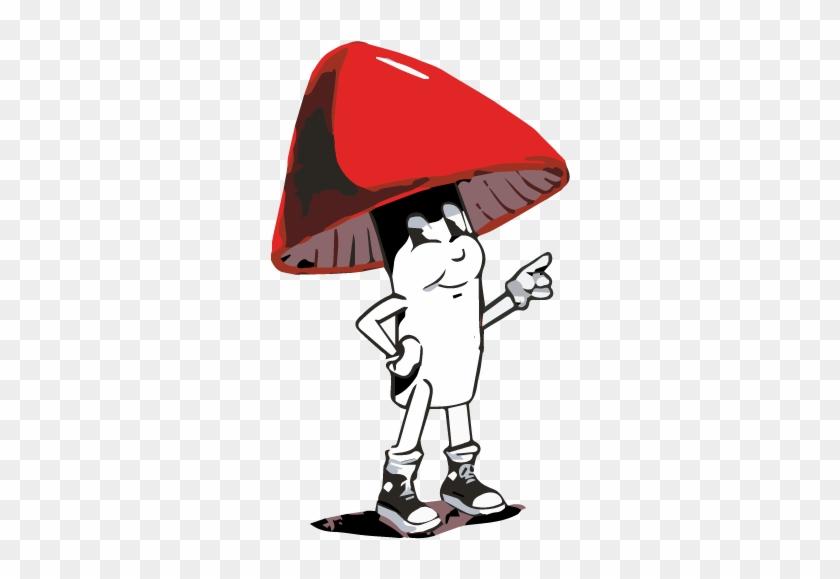 Shroomy, The Official Spokesperson Of Boston Iced Tea - Cartoon #171972