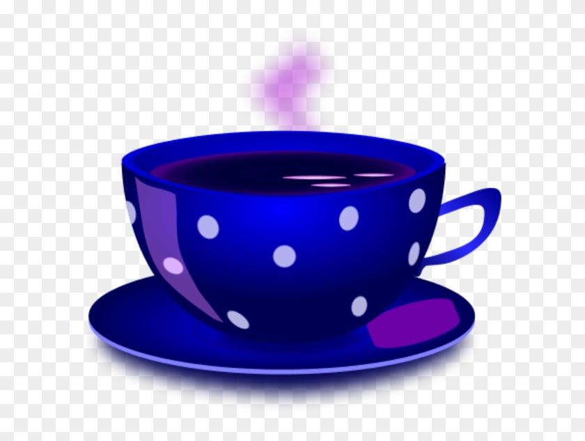 Cup Of Tea Vector Clip Art - Red Coffee Cups Clip Art #171977
