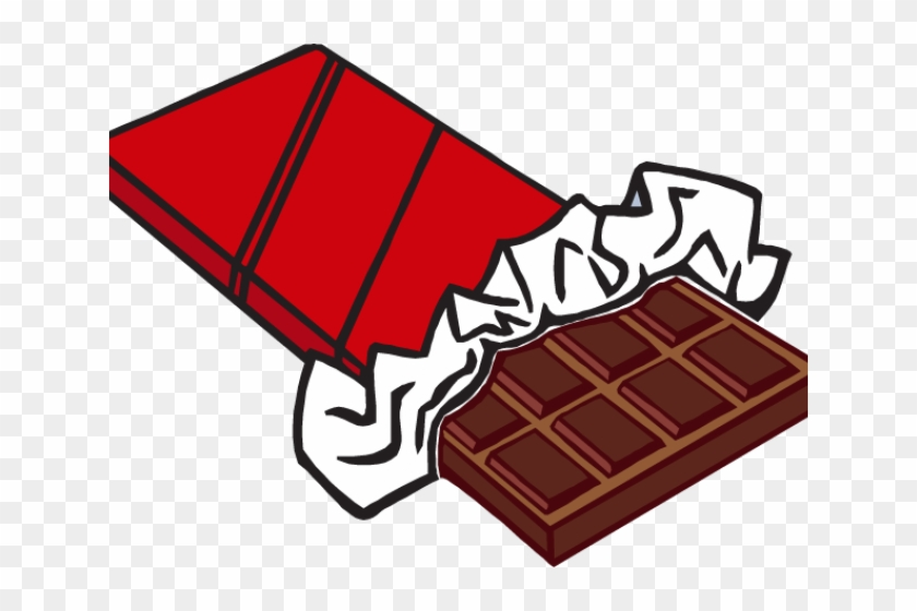 Candy Bar Clipart - Chocolate Bar Clip Art #172032