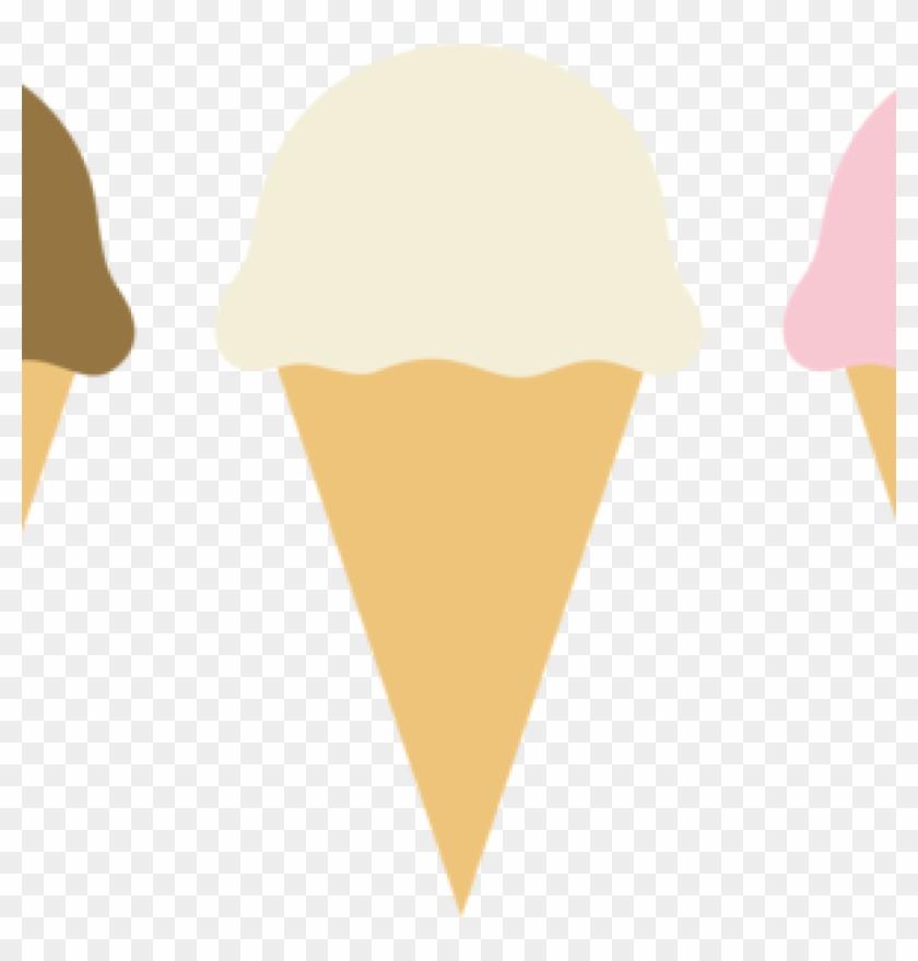 Ice Cream Clip Art Free Three Ice Cream Cones Free - Clip Art #172041
