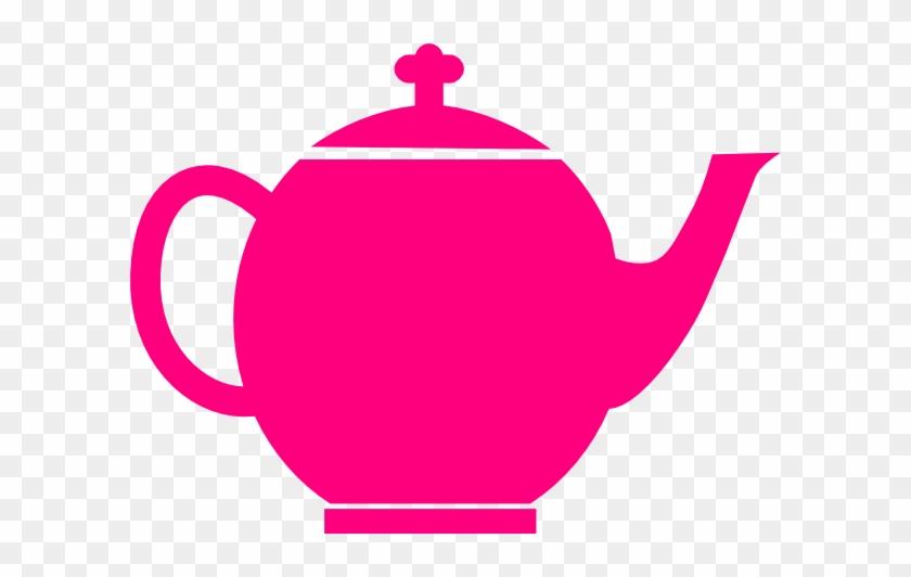 Pink Teapot - Bule De Cha Azul Desenho #172074