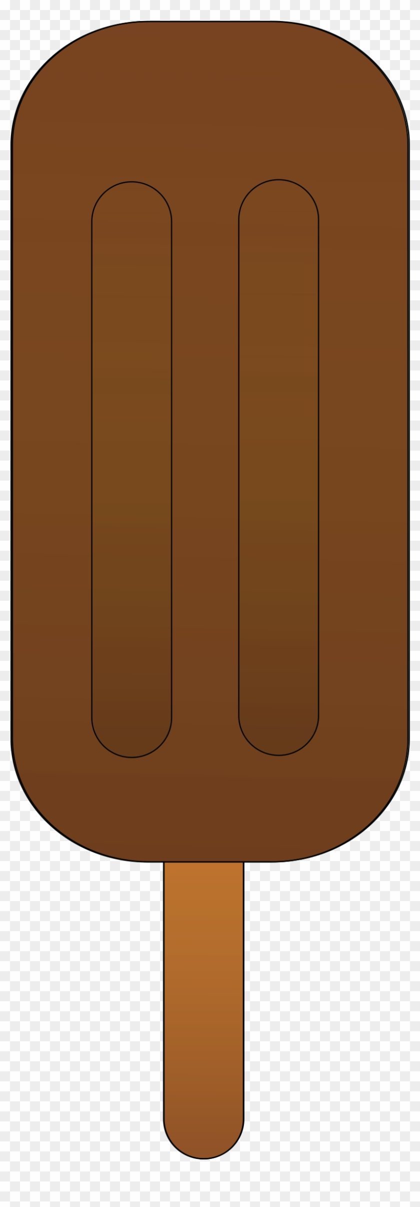 Chocolate Clipart Ice Pop - Chocolate Popsicle Clipart #172109