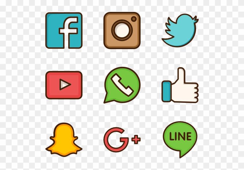 Social Media Png Transparent Social Media - Icon Social Media Png #172139