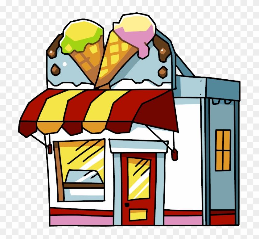 Ice Cream Store - Ice Cream Parlor #172148