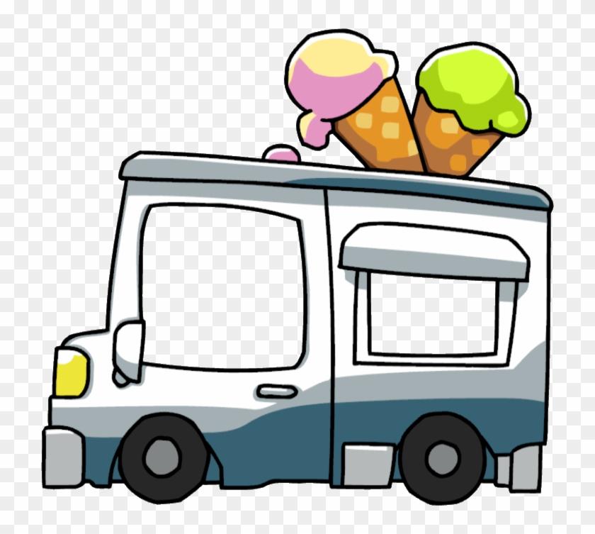 Ice Cream Van - Ice Cream Truck Png #172171