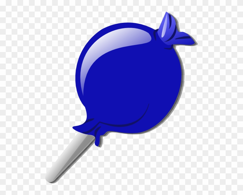Blue Lolly Clip Art At Clker - Blue Candy Clipart #172161