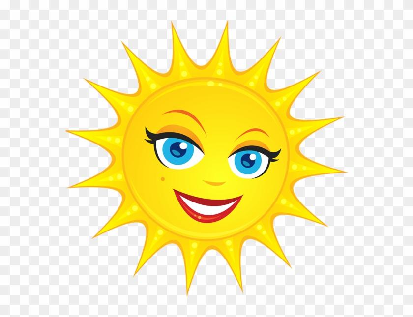 Transparent Cute Sun Png Clipart Picture - Sun Clipart No ...