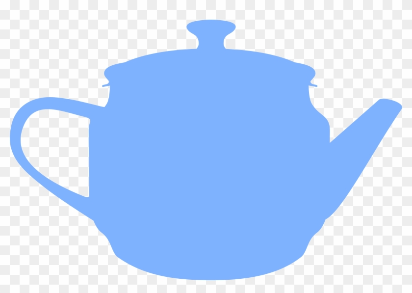 Teapot Clipart Silhouette - Bule Cha De Panela #172430