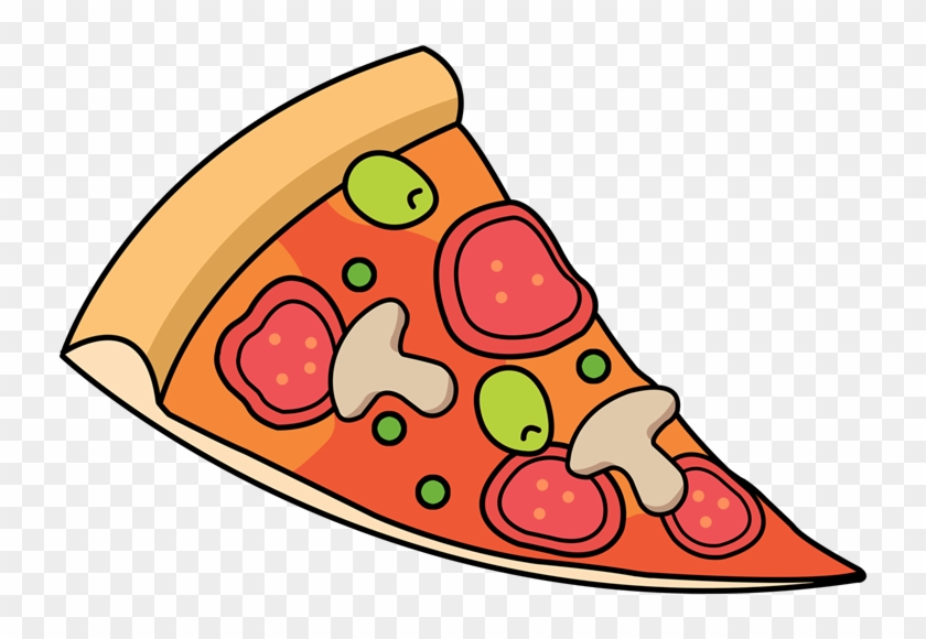 Free Cartoon Sliced Pizza Clip Art U0026middot Pizza12 - Pizza Slice Clip Art #172444