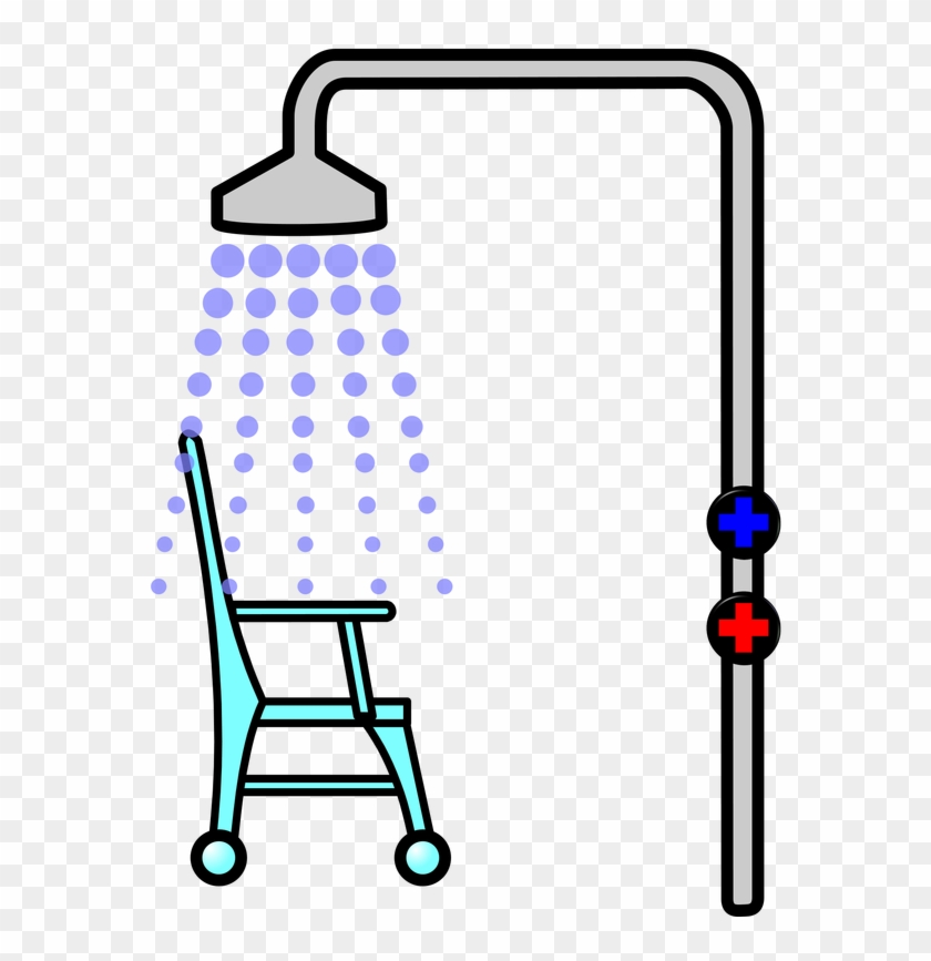 Shaving Foam - Picture - Shower - Picture - Shower Chair Clipart #172584