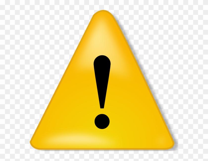 Free Vector Warning Sign Clip Art - Warning Sign No Background #172674