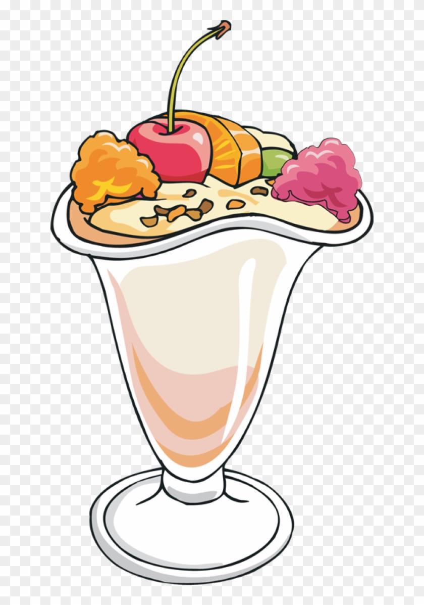 Ice Cream Sundae Clip Art - Ice Cream Sundae Clip Art #172820