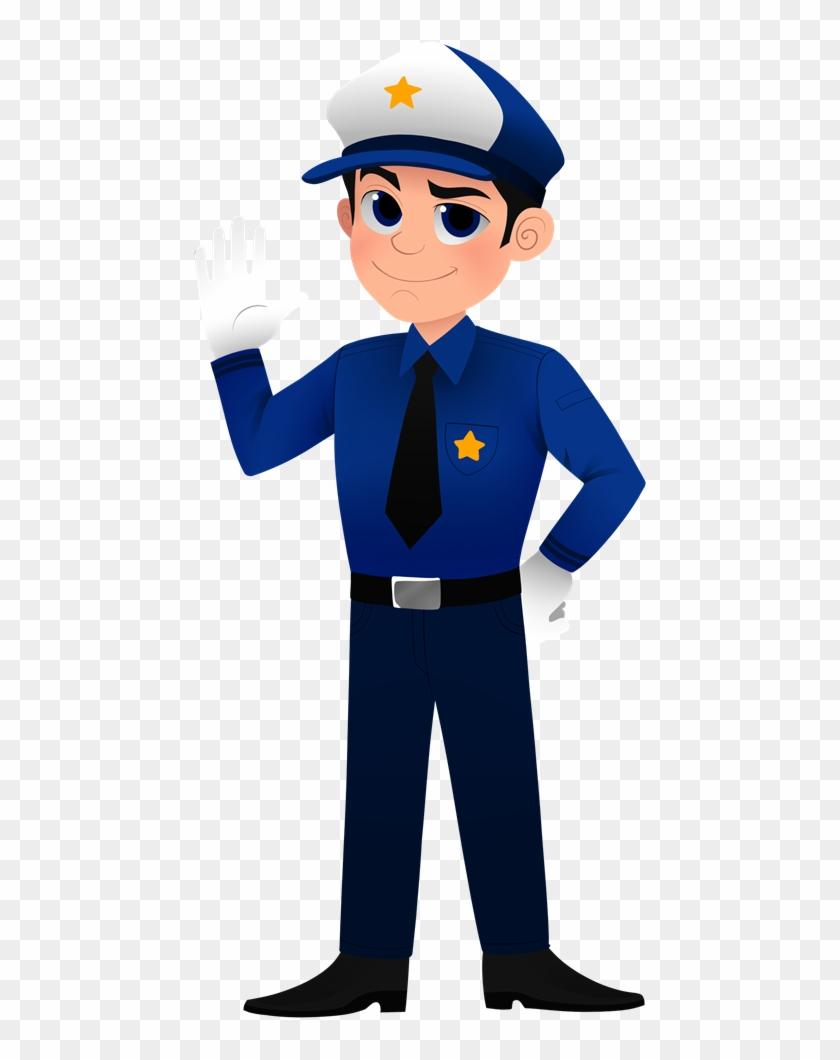 free cartoon policeman clip art - police officer police clip art