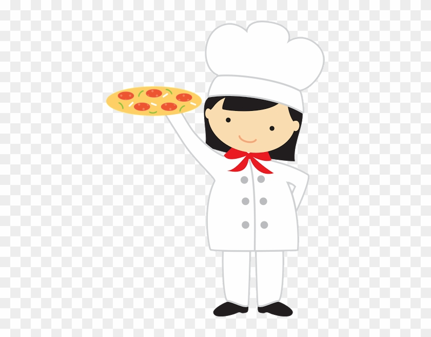 Woman Pizza Maker - Thank You For The Pizza #172971