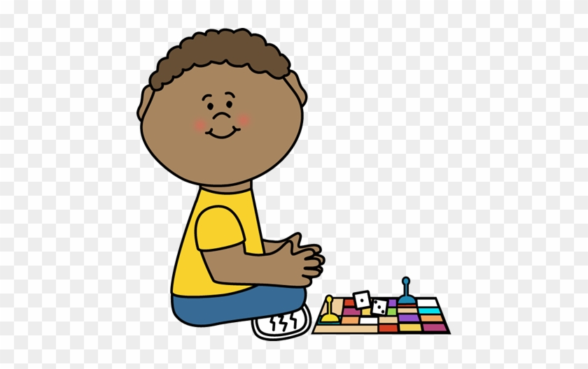 Kids Playing Board Games Clip Art Boy Playing A Game Clipart Free Transparent Png Clipart Images Download