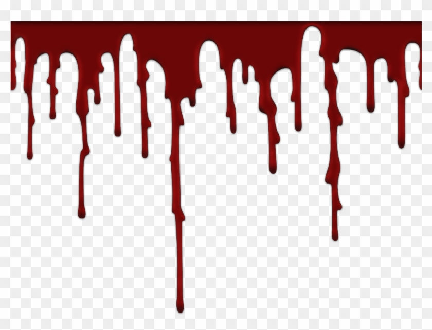 Blood Dripping Background - Blood Png - Free Transparent PNG Clipart