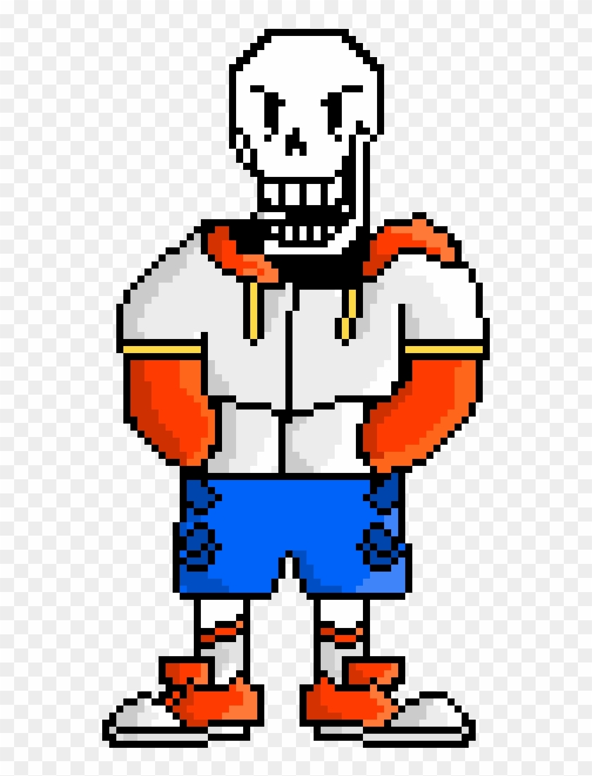 Ts Swap Papyrus By Portal Master - Pixel Art - Free Transparent PNG