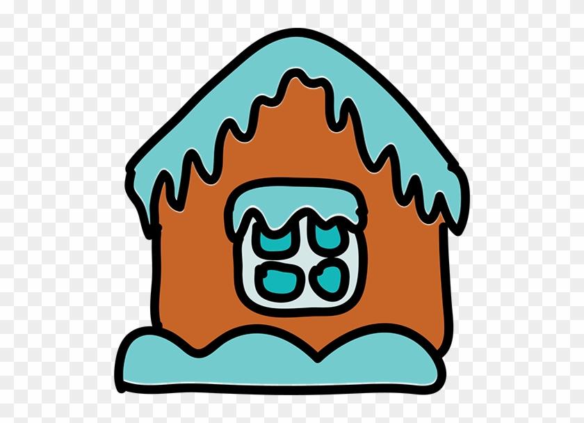 Eishaus House Clip Art - Ice House Cartoon #173146