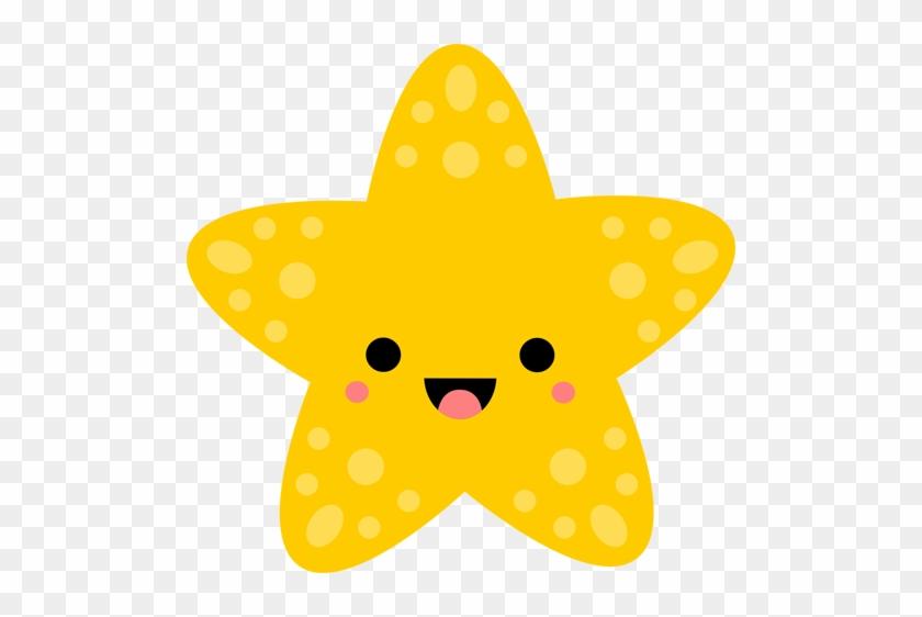 Whale Clipart Kawaii - Kawaii Starfish #173371