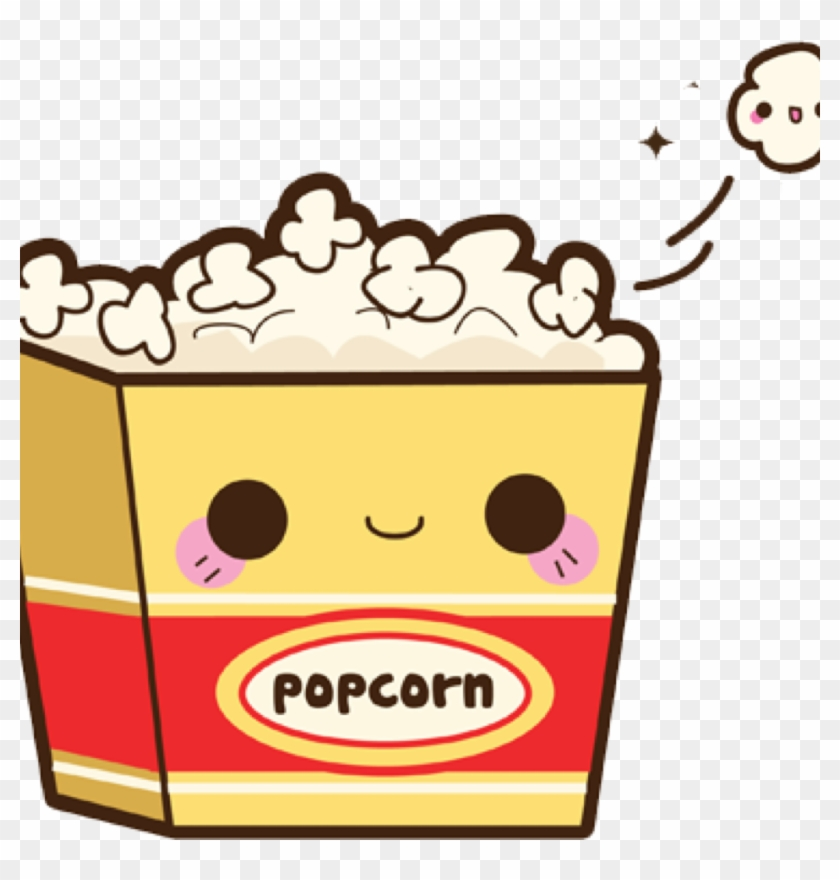 Popcorn Drawing Kavaii Ice Cream Cones Clip Art - Popcorn Drawing Kavaii Ice Cream Cones Clip Art #173443