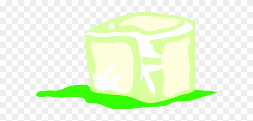 Large Melting Ice Cube Clipart - Ice Cube Clip Art #173458