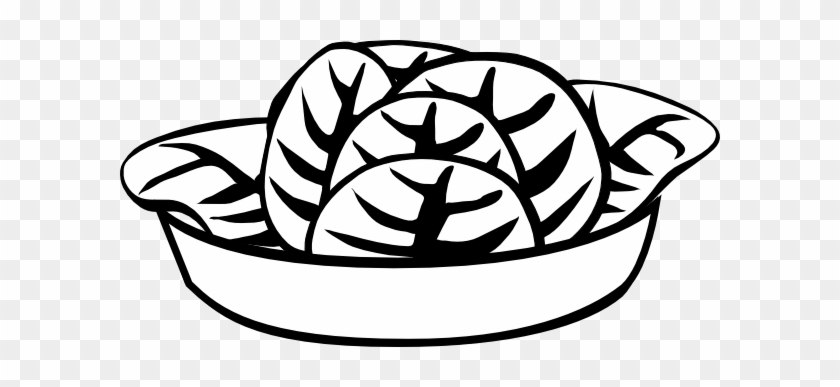 Fruit Salad Clipart Black And White Draw A Bowl Of Salad