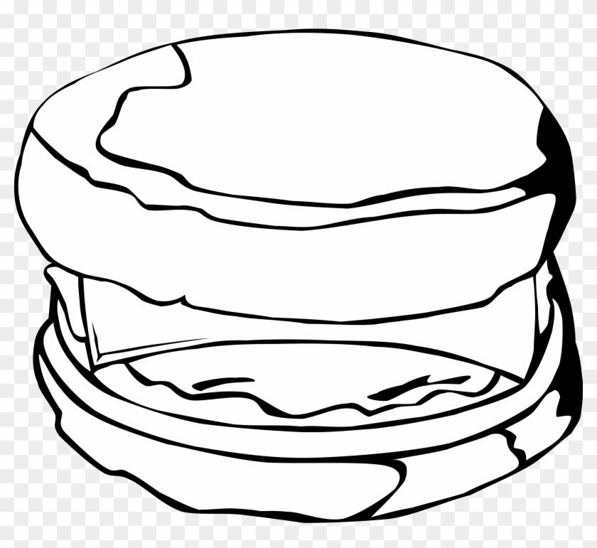 Big Image - Breakfast Sandwich Clipart #173562