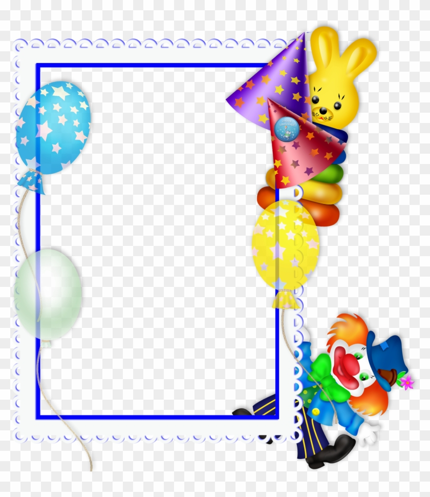 Happy Birthday Frame .png - Free Transparent PNG Clipart Images Download