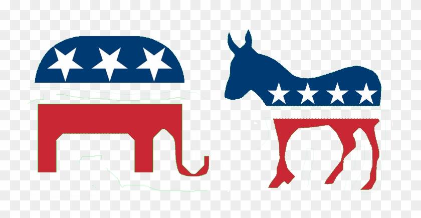 Political Communication Republican And Democratic Symbols Free