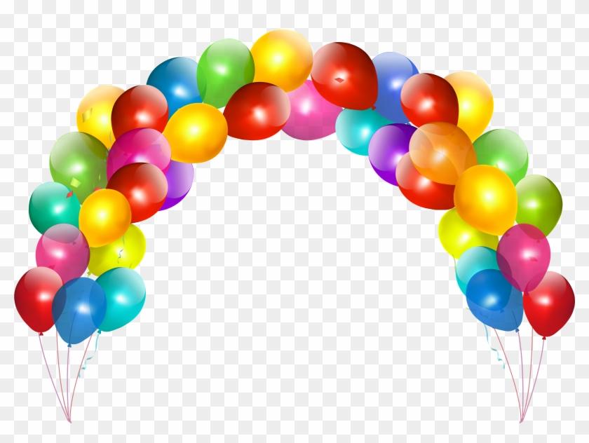 Balloon Clip Art - Happy Birthday Balloons Png #173620