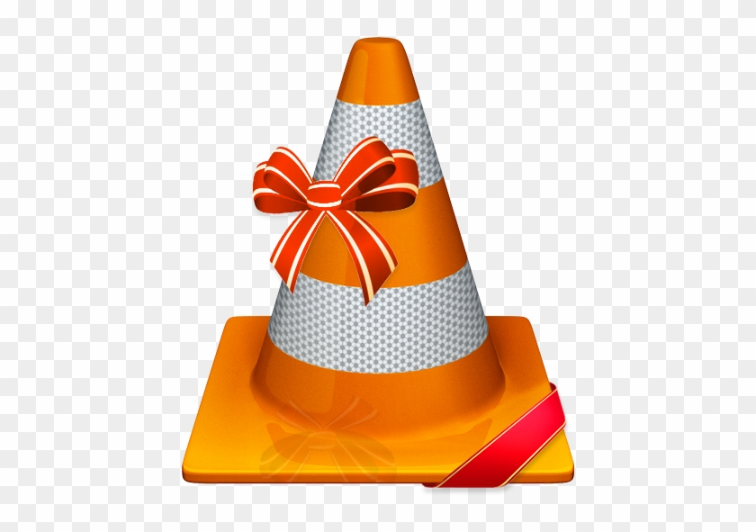 Cone With Ribbon - Vlc Media Player Free Download #173631