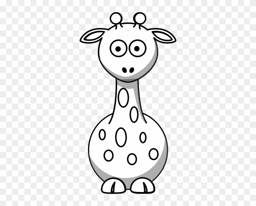 Black And White Giraffe Clip Art At Clker Cute Clipart Black And