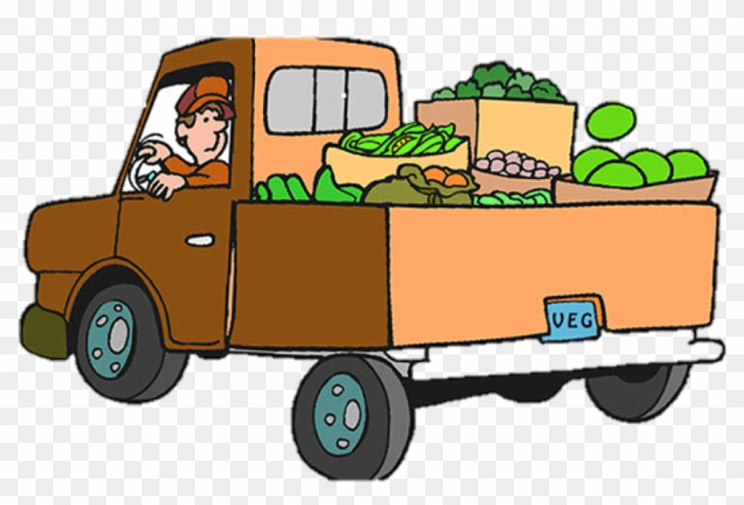 Food Pantry Truck Clip Art #173653