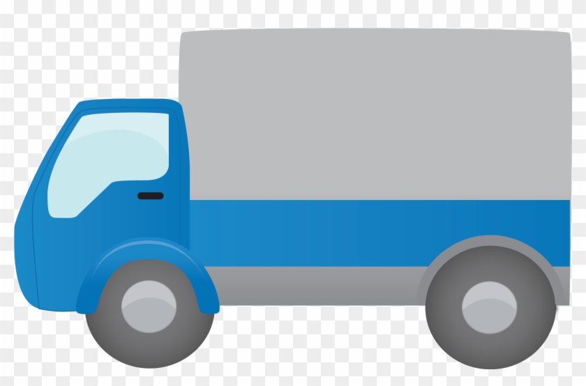 Moving Truck Clipart - Moving Truck Icon Png #173661
