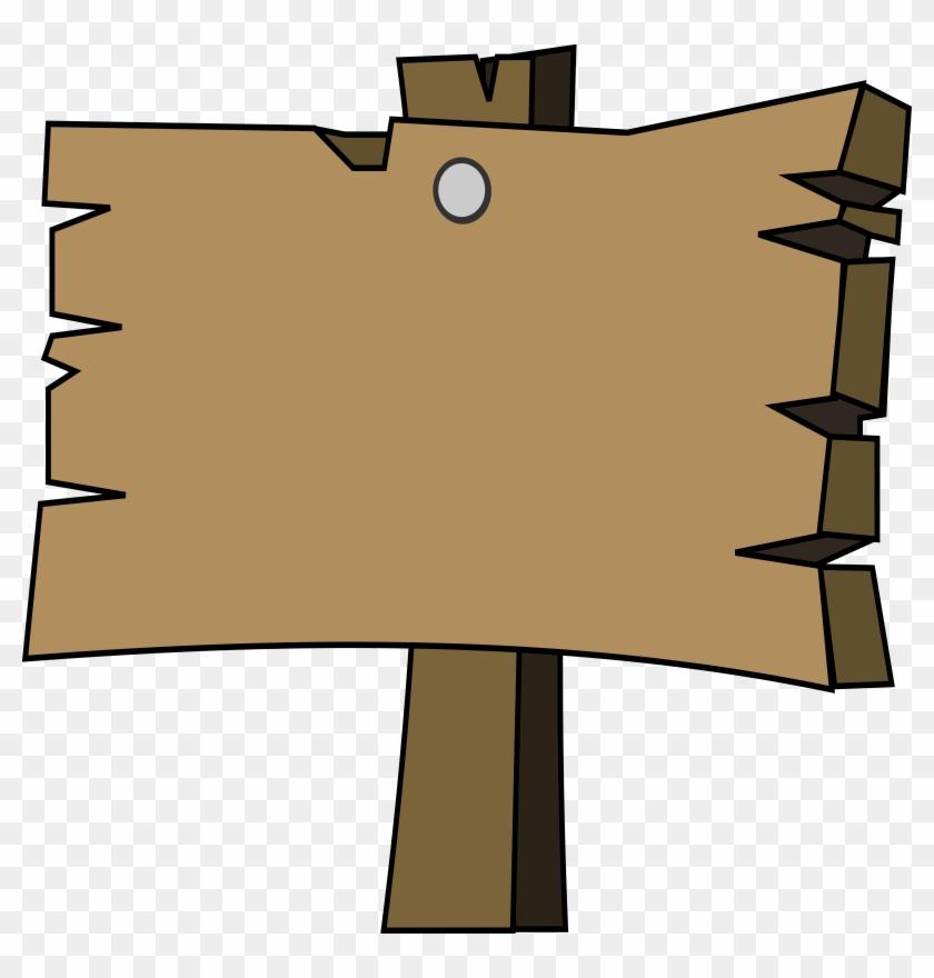 clipart wood signal png cartoon wooden board free transparent