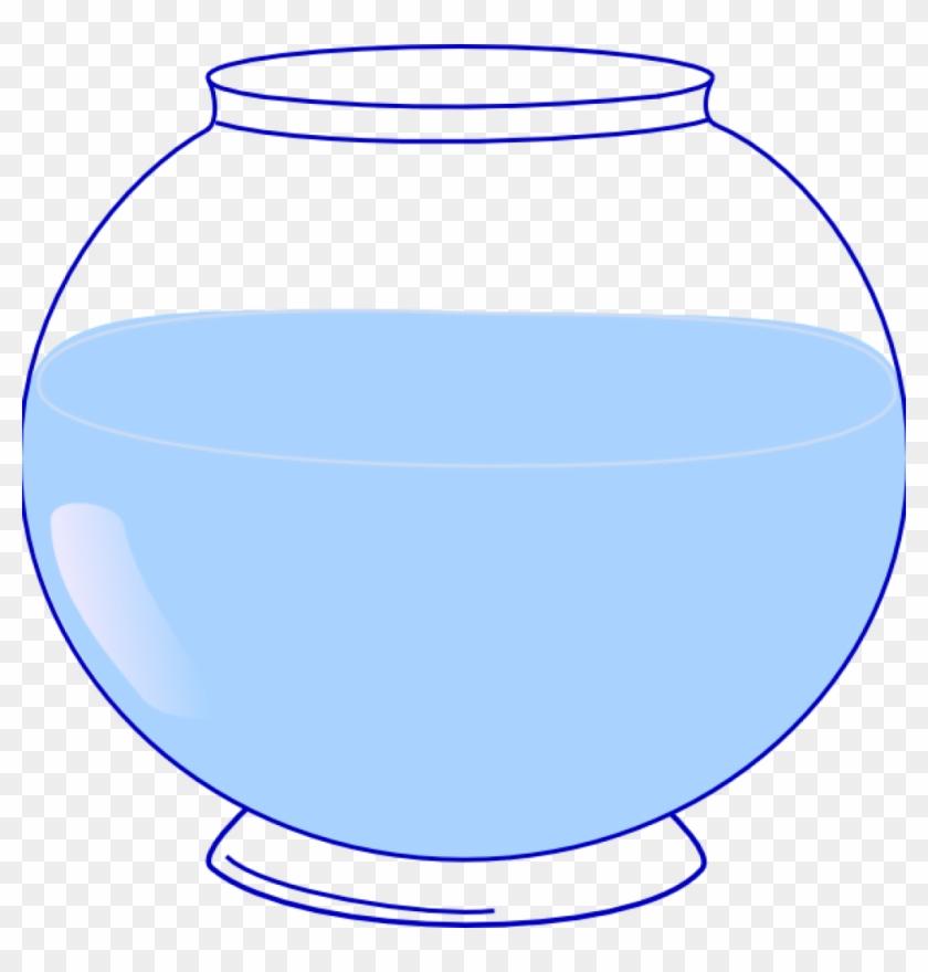 Fish Bowl Clipart Fish Bowl Clip Art At Clker Vector - Empty Fish Bowl Clipart #173743