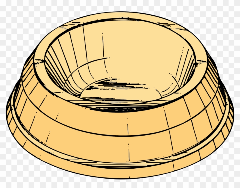 Dog Bowl Clip Art - Dish Clip Art #173746