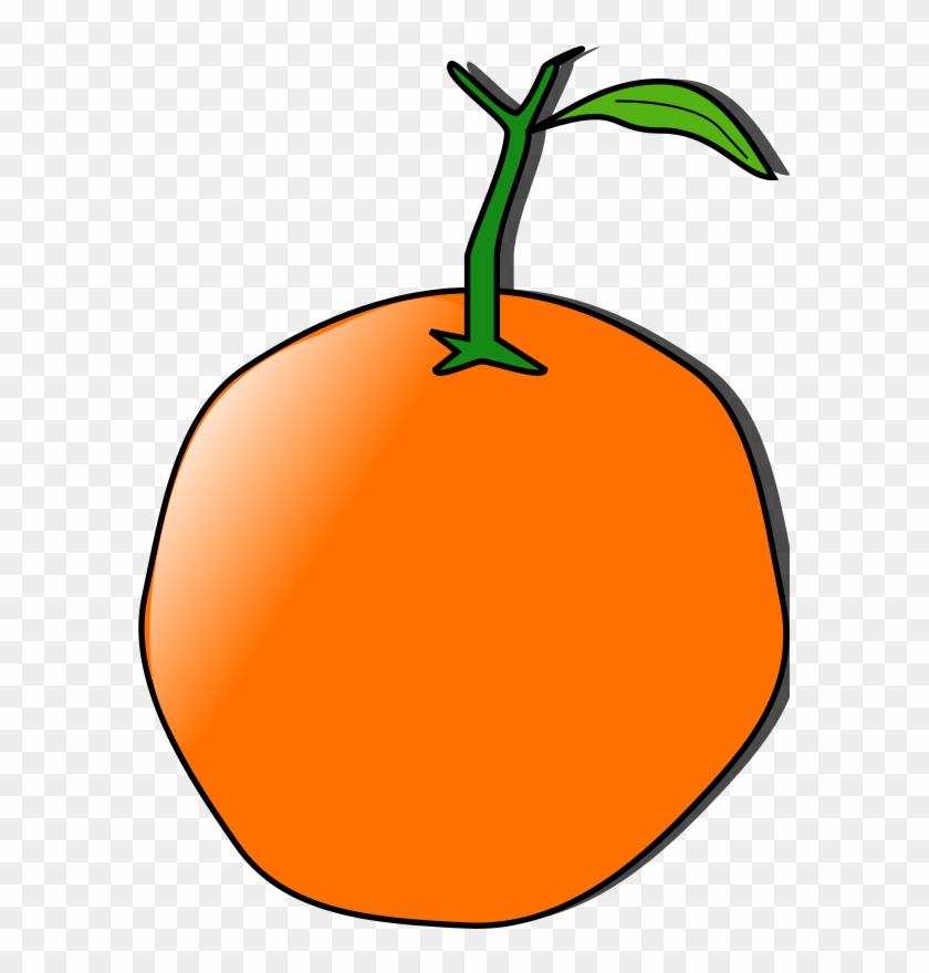 Free Vector Orange Clip Art - Custom Orange Shower Curtain #173842