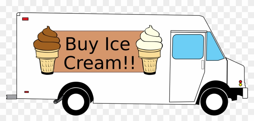 Heavens Delights Ice Cream - Food Truck Clip Art #173889