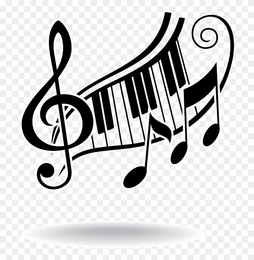 Player Piano Musical Note Piano Keys And Music Notes Free Transparent Png Clipart Images Download