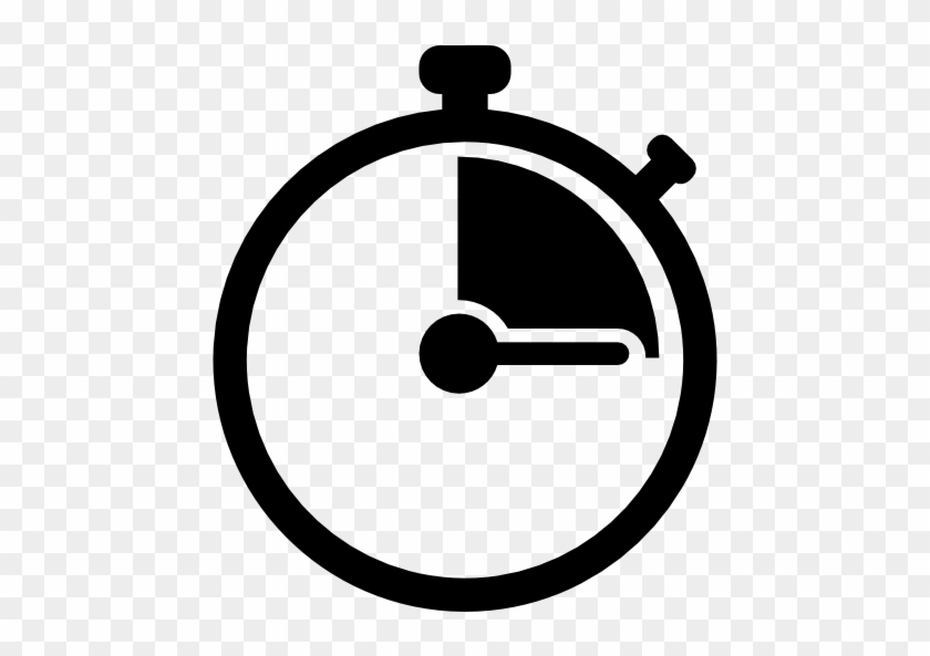 Stop Watch Transparent Image - Stopwatch Icon Png #952542