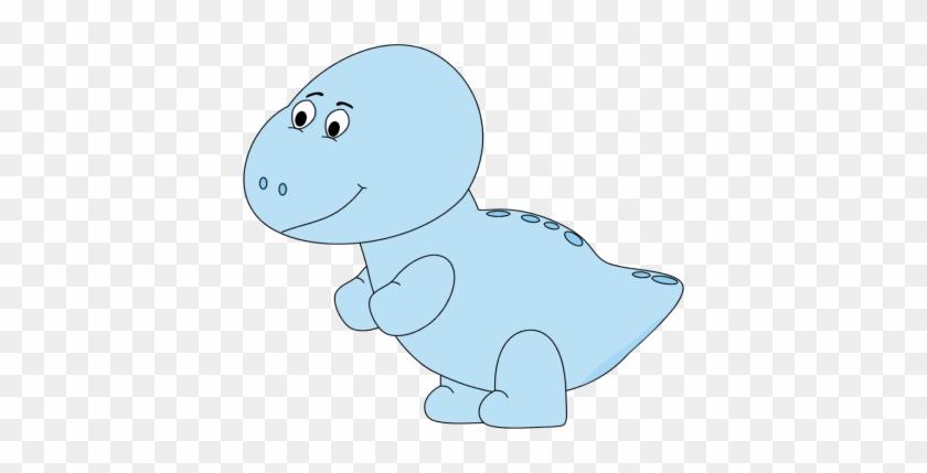 Baby Dinosaur - Baby Blue Dinosaur #953232